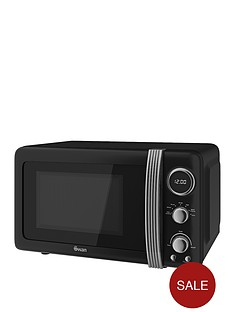 swan-sm22030bn-vintage-20-litre-digital-microwave-black