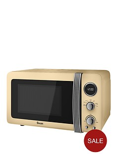 swan-sm22030cn-vintage-20-litre-digital-microwave-cream