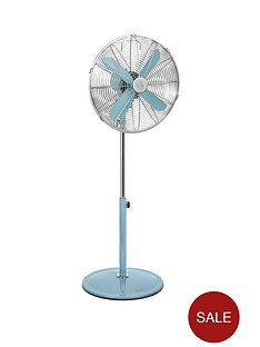 swan-sfa1020-16-inch-retro-stand-fan-blue