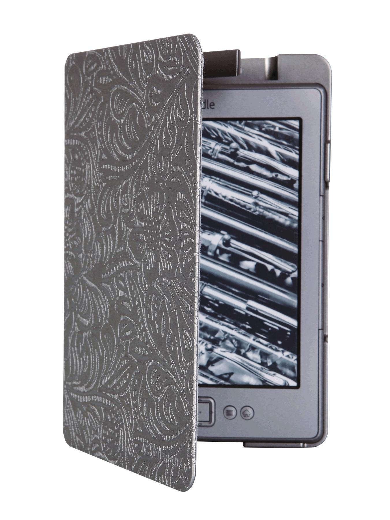 Verbatim Kindle 6 inch E-Ink Case - Grey, Grey