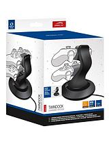 Twin Dock Charging System for PS4 - Black