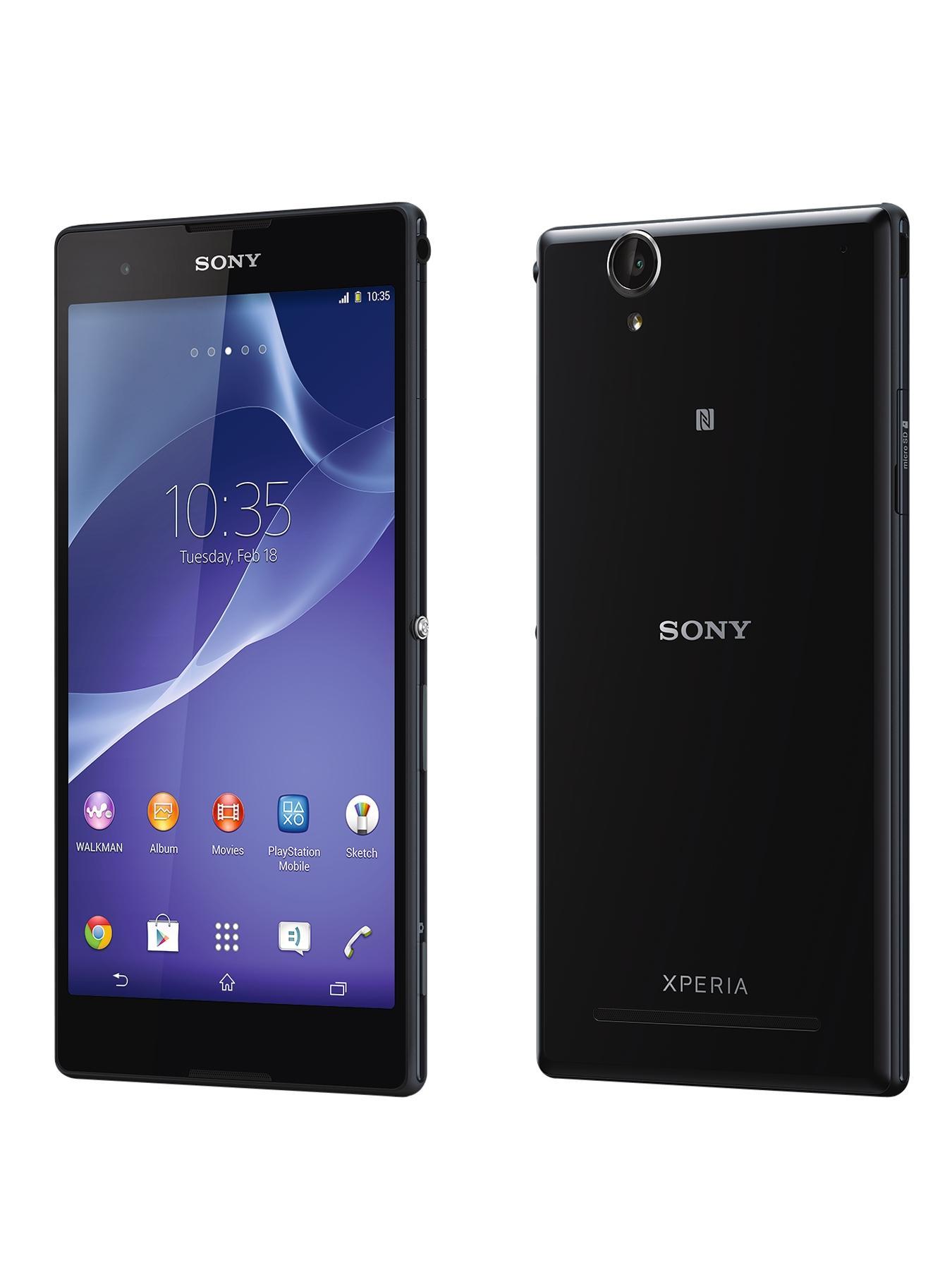 Sony Xperia T2 Ultra 6.4 inch Smartphone - Black