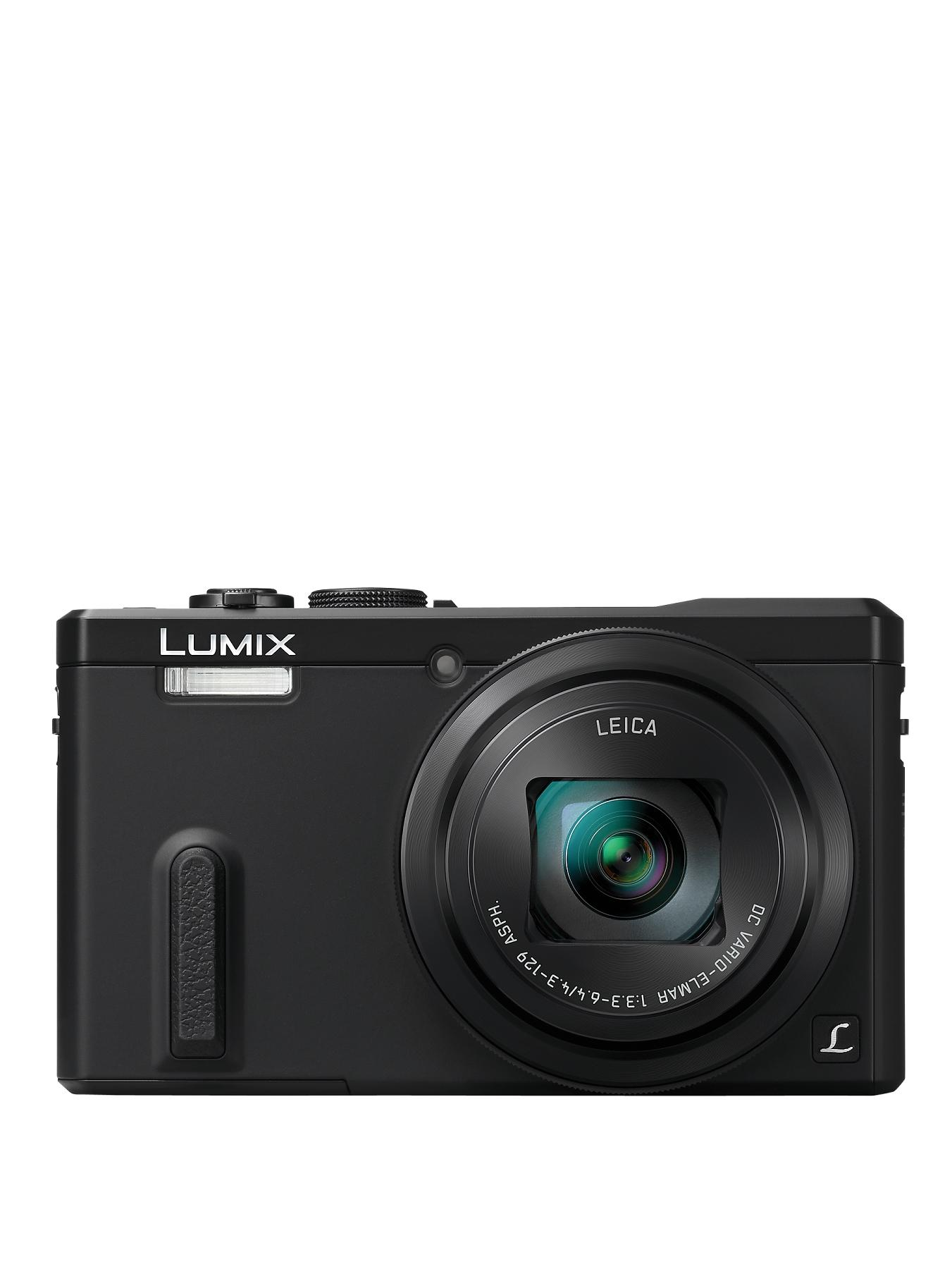 Panasonic DMC-TZ60EB-K Super Zoom Compact Camera