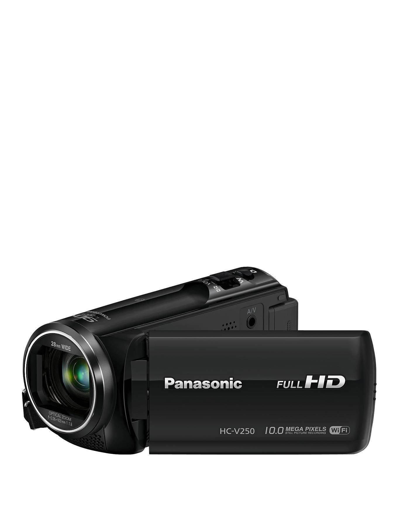 Panasonic HC-V250EB-K Full HD Camcorder