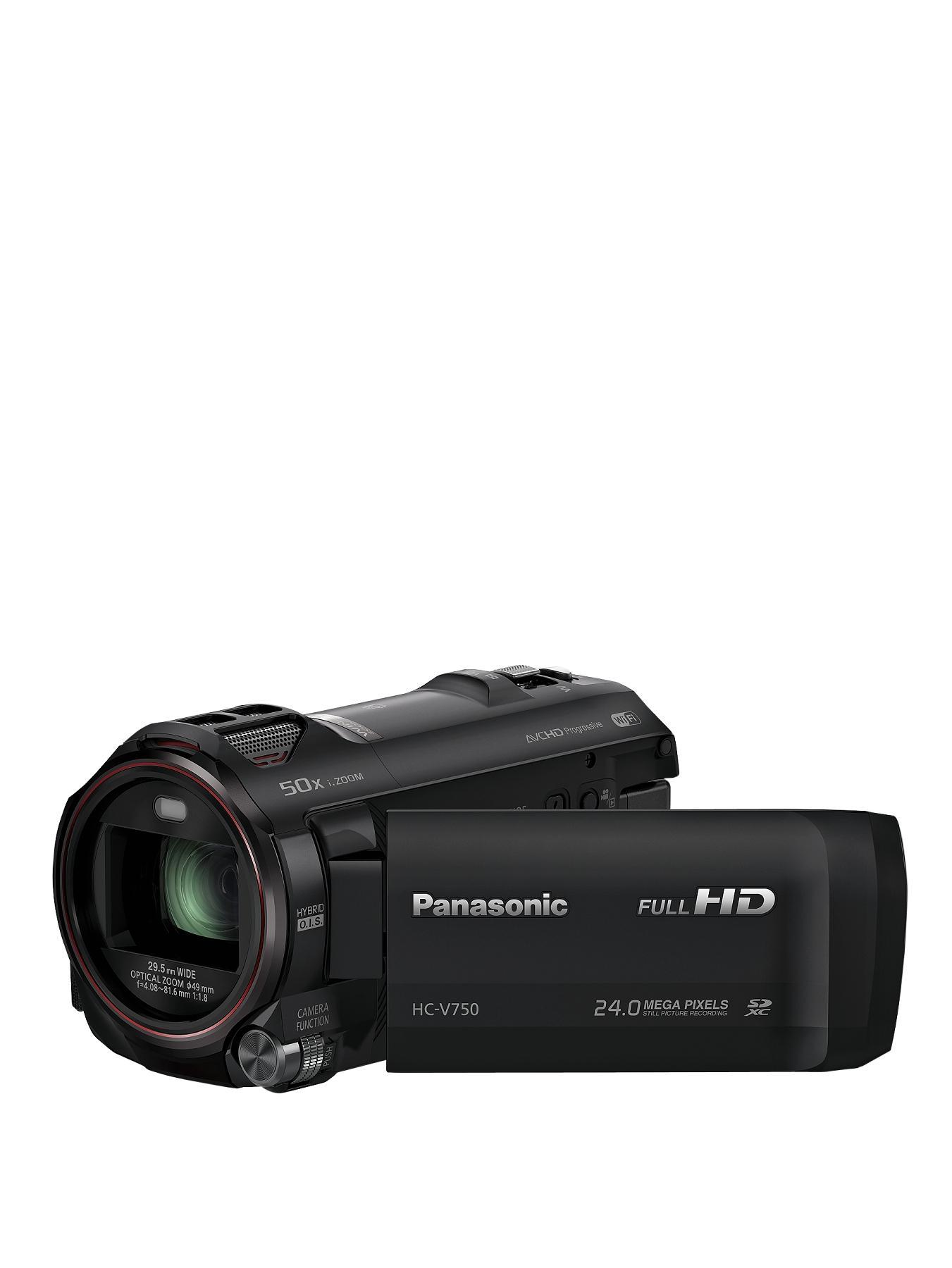 Panasonic HCV-750EB-K Camcorder