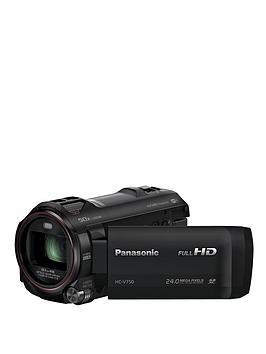 Panasonic HCV-750EB-K Camcorder with 20x Optical Zoom and WiFi