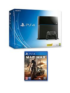 playstation-4-console-with-mad-max-and-optional-3-or-12-months-playstation-plus