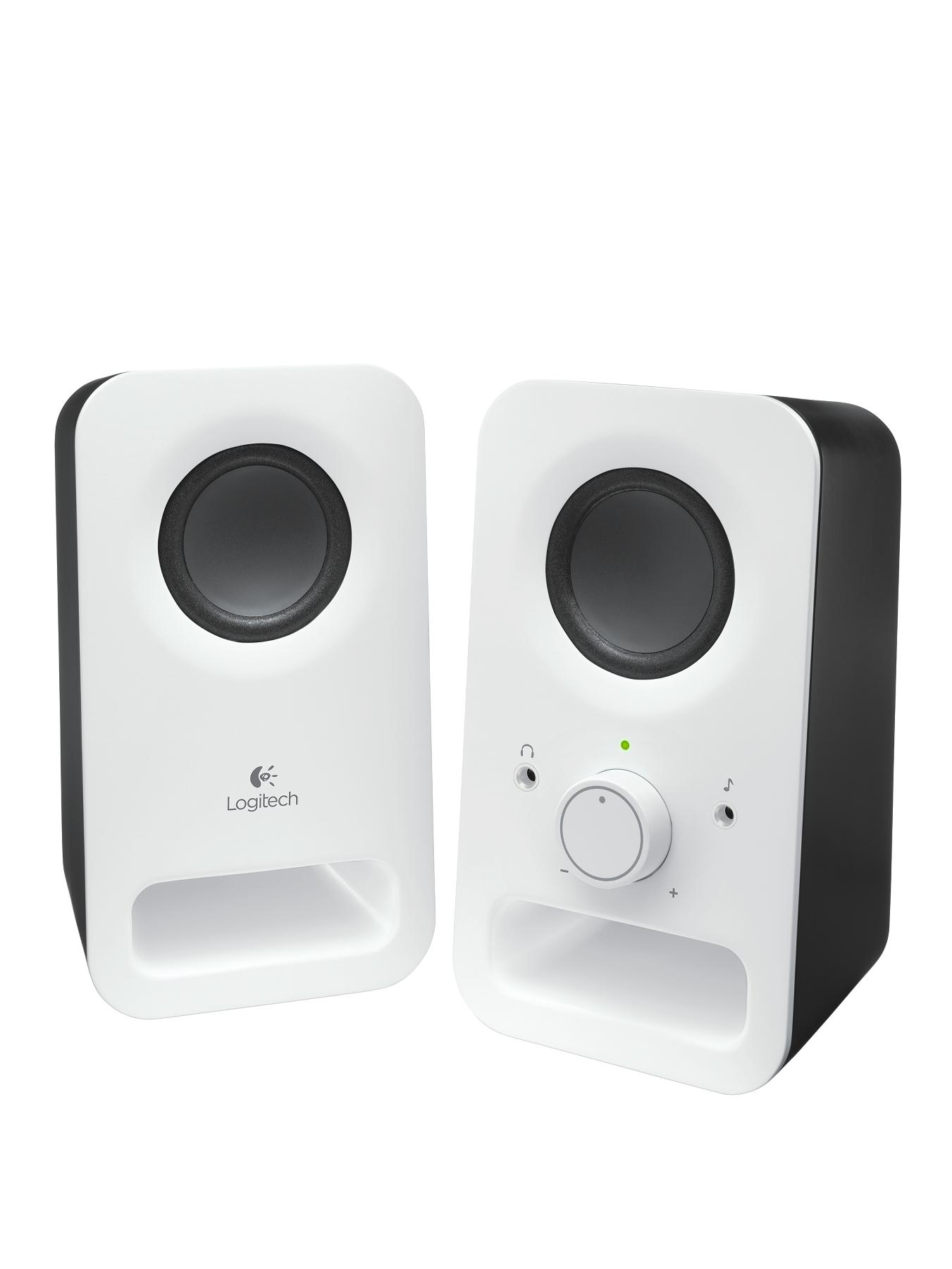 Logitech Z150 Multimedia Speakers - White