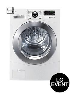 lg-rc7066a2z-7kg-freestanding-condenser-sensor-tumble-dryer