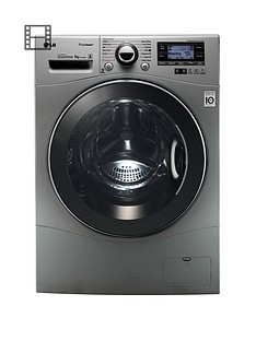 lg-f14a7fdsa5-9kg-load-1400-spin-washing-machine-silver