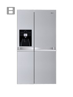 lg-gsl545nsyz-frost-free-usa-style-fridge-freezer-brushed-steel