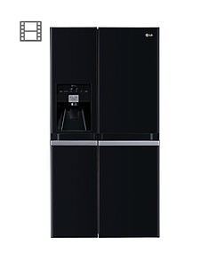 lg-gsl545wbyv-frost-free-usa-style-fridge-freezer-black