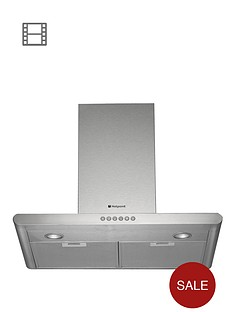 hotpoint-hhc77ab-70cm-chimney-built-in-cooker-hood