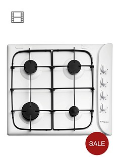 hotpoint-newstyle-g640sw-60cm-built-in-gas-hob-with-fsd-white