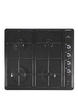 new-world-nwghu601-60cm-built-in-gas-enamel-hob-black