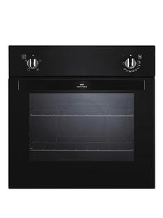 new-world-nw601f-60cm-built-in-electric-fanned-single-oven-black