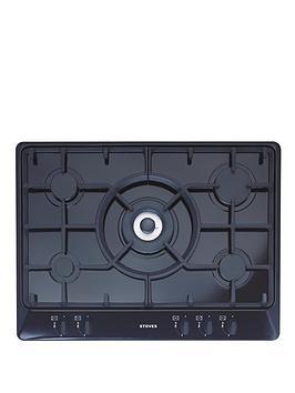 stoves-sgh700c-70cm-gas-hob-black