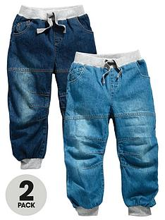 ladybird-boys-cuffed-pack-2-jeans