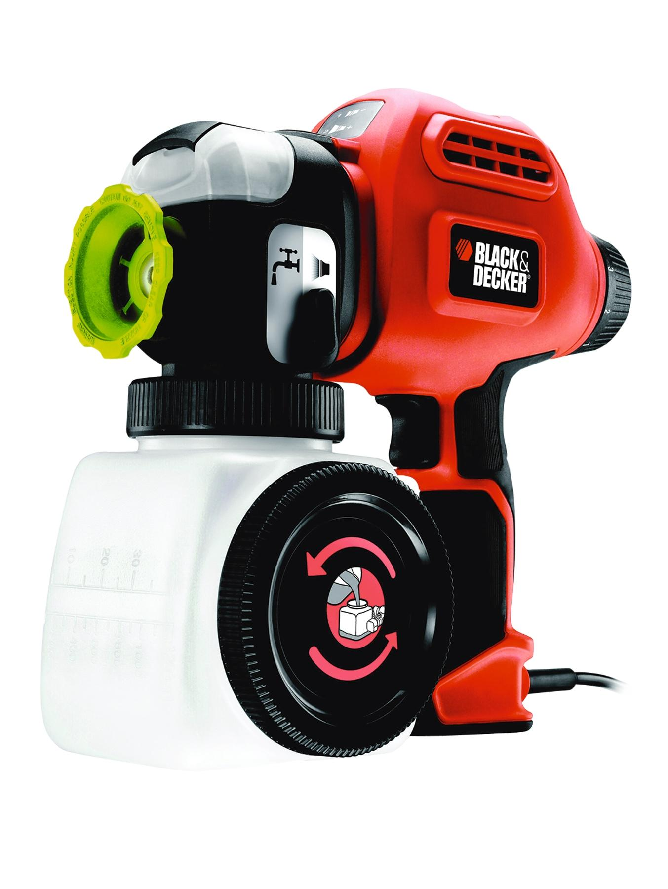 Black & Decker 2-speed Heavy Duty Paint Sprayer with Quick Clean