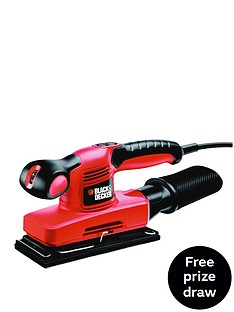 black-decker-ka320eka-gb-240-watt-variable-speed-sander-with-carry-case-free-prize-draw-entry