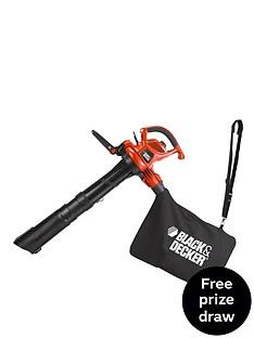 black-decker-gw3050-gb-3000-watt-variable-speed-blowvac-with-rake-free-prize-draw-entry
