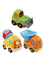 Toot Toot Drivers 3 Car Pack Construction Vehicles