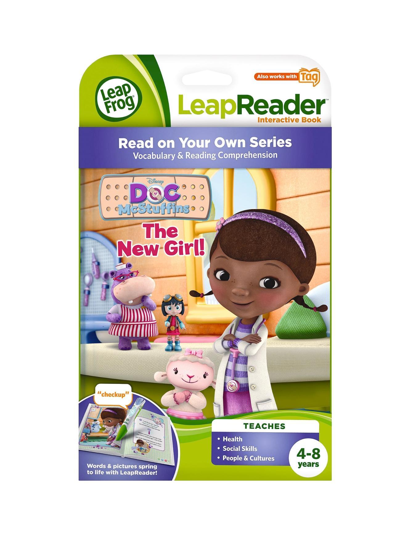LeapFrog LeapReader Book Doc McStuffins