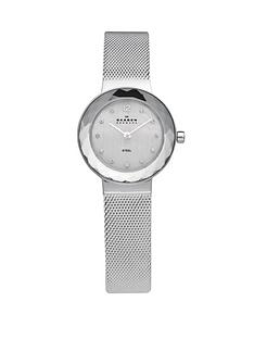 skagen-klassik-silver-tone-stainless-steel-ladies-watch