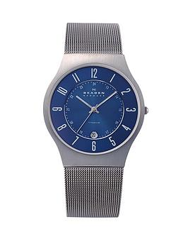 skagen-grenen-blue-dial-mesh-mens-watch