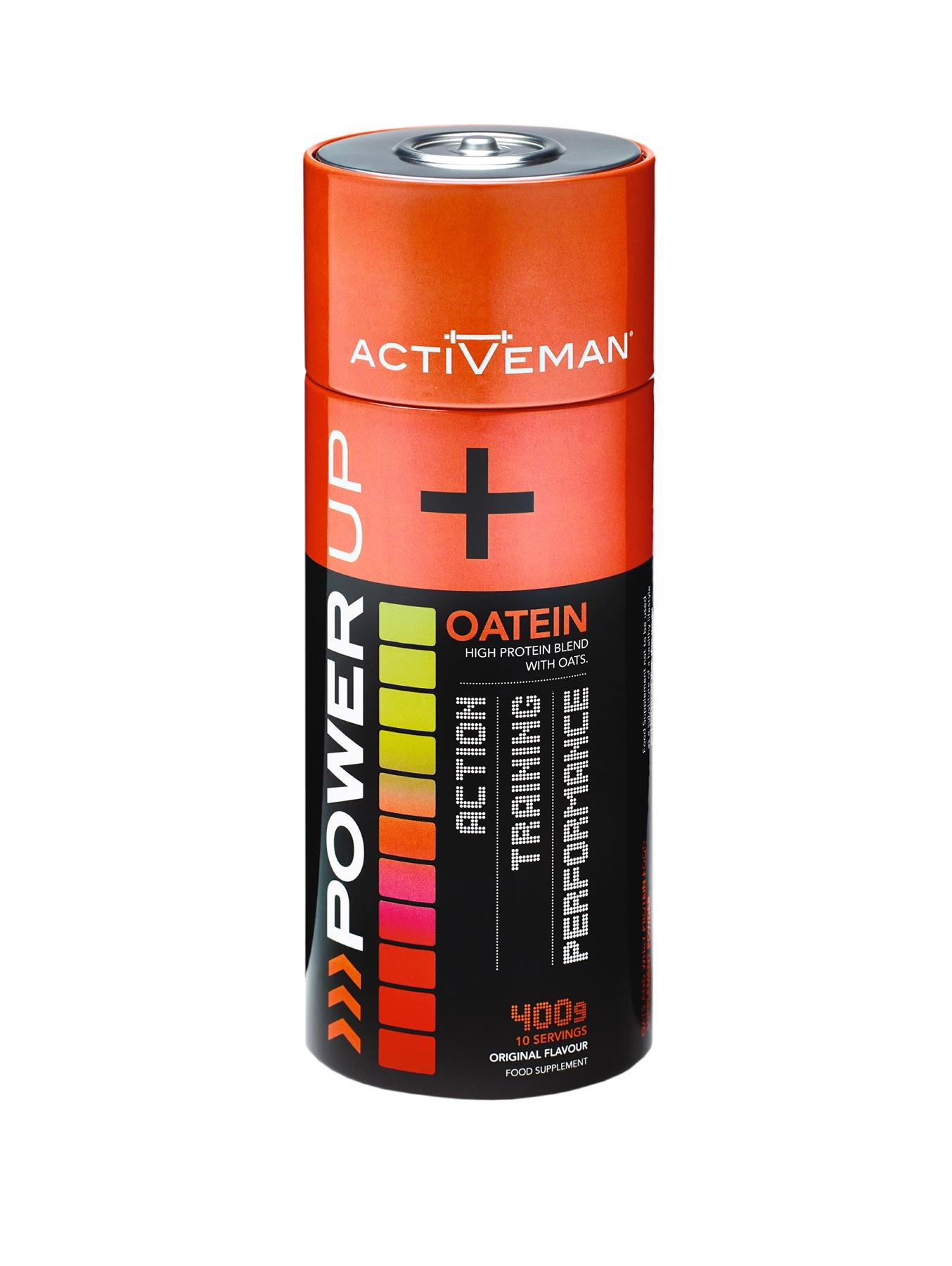 ActiVeman Power Up Oatein 400g (10 Servings approx)
