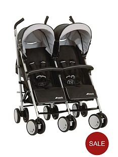 hauck-torro-duo-twin-pushchair-black
