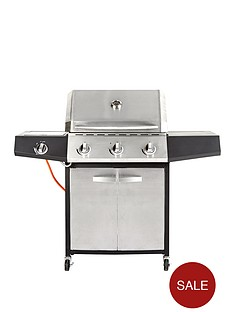 3-burner-gas-bbq-with-side-burner-stainless-steel