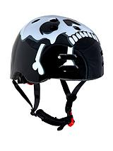 Skull and Cross Bones BMX Helmet - 55-58 cms