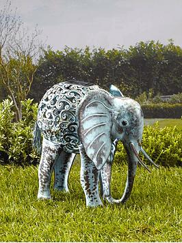 smart-solar-metal-silhouette-elephant