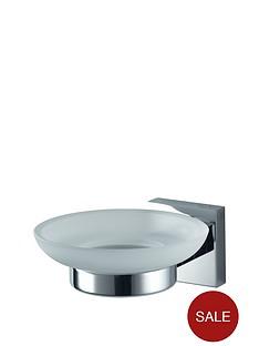 aqualux-haceka-mezzo-glass-soap-holder