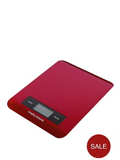 morphy-richards-electronic-kitchen-scale-red