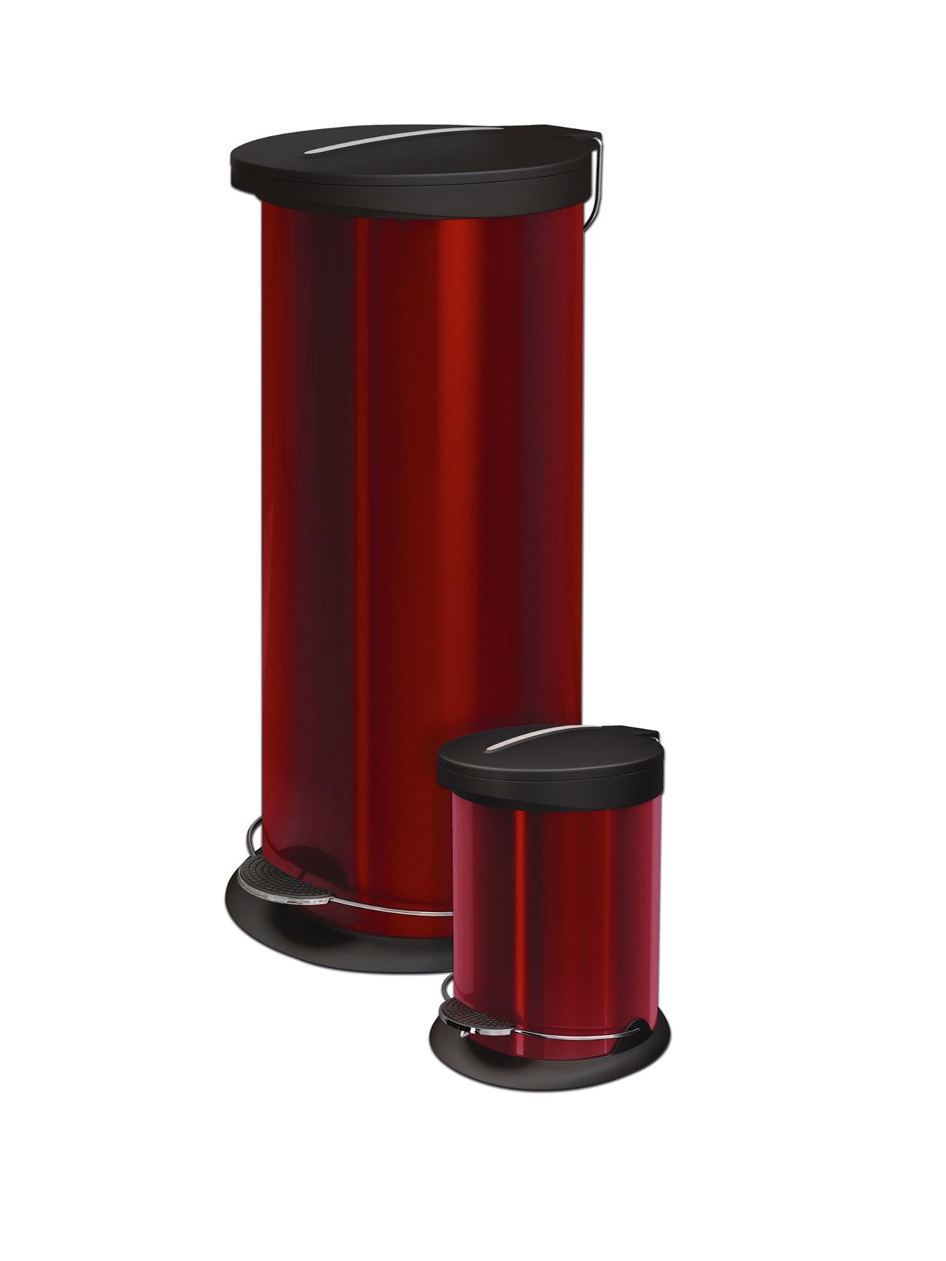 Morphy Richards Pedal Bin With FREE 5-Litre Pedal Bin - Red