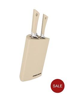 morphy-richards-5-piece-tri-knife-block-cream