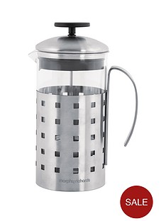 morphy-richards-8-cup-cafetiere-1000ml-stainless-steel