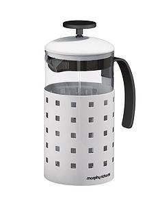 morphy-richards-8-cup-cafetiere-1000ml-white