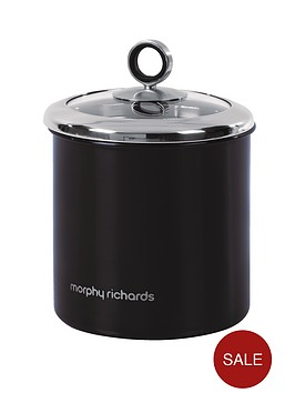 morphy-richards-large-storage-canister-black