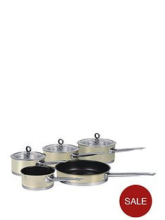 morphy-richards-5-piece-pan-set-cream