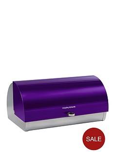 morphy-richards-roll-top-bread-bin-purple