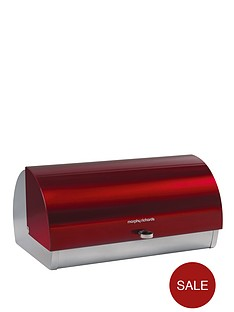 morphy-richards-roll-top-bread-bin-red