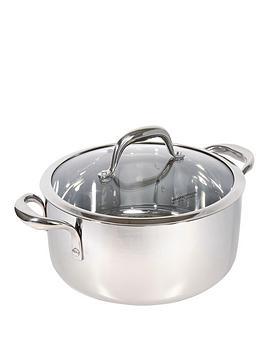 morphy-richards-pro-tri-24-cm-casserole-pan