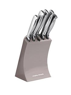 morphy-richards-5-piece-knife-block-barley