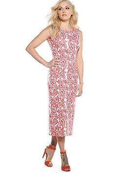 fearne-cotton-paisley-print-midi-dress