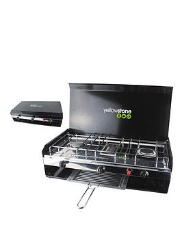 yellowstone-double-burner-with-grill-and-lid
