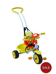 hauck-prema-tricycle-with-removable-parent-handle-green