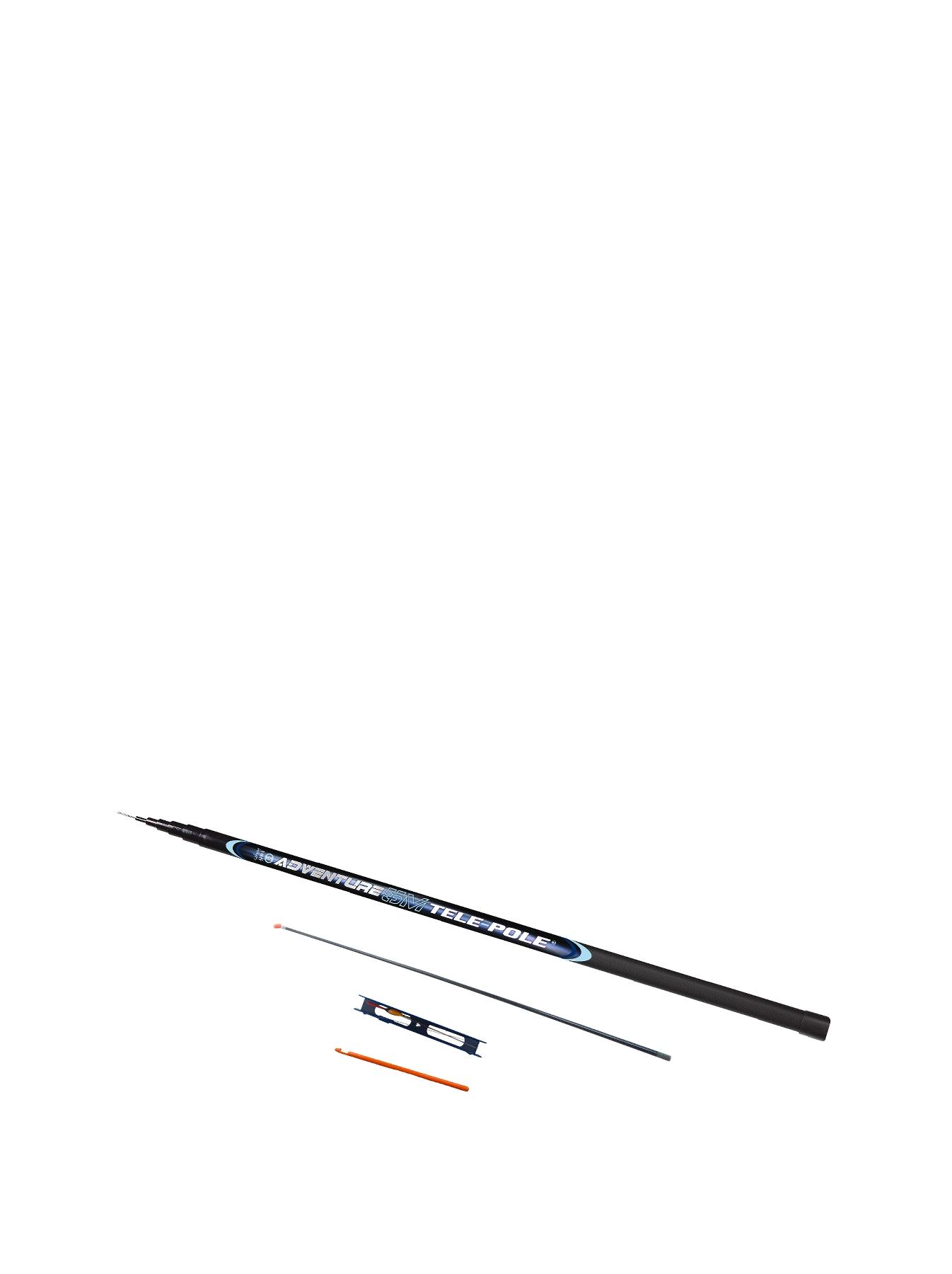 Fladen Fishing Matt Hayes Adventure 5m Elasticated Telescopic Whip + Rig + Disgorger